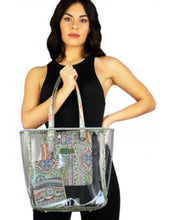 """Upload the image to the Gallery viewer, """"Majolica"""" Shopper"""