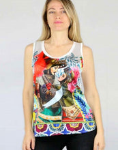 """Upload the image to the Gallery viewer, """"Angelica and Orlando"""" tank top"""