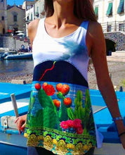 """Upload the image to the Gallery viewer, """"Stromboli"""" tank top"""