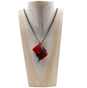 Necklace with Mini Notebook