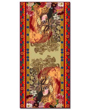 """Upload the image to the Gallery viewer, """"Angelica Ribelle"""" scarf - 30% DISCOUNT -"""