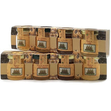 Upload the image in the Gallery viewer, Sicilian Black Bee Honey Selections 4 x 40 gr (Cardo, Sulla, Madonie Millefiori and Honeydew) - 10% DISCOUNT -