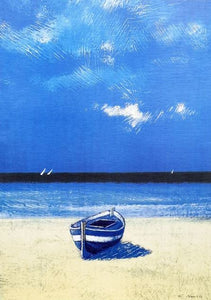 Beach Lithograph - 20% DISCOUNT -