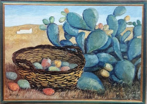 Lithograph with prickly pear - 20% DISCOUNT -