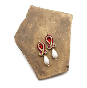 "Earrings ""Majorca Pearl"""