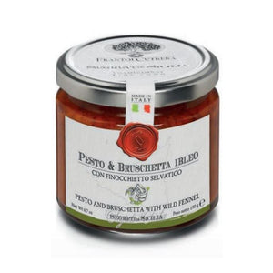 Pesto and Ibleo Bruschetta with Wild Fennel - 190 gr