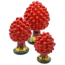 Upload the image to the Gallery viewer, Red Pine Cone with Decorated Foot - 10% DISCOUNT -