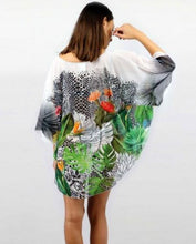 """Upload the image to the Gallery Viewer, """"Tropical"""" Poncho"""