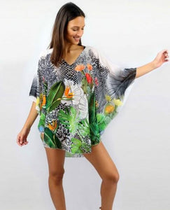 "Poncho ""Tropicale"""