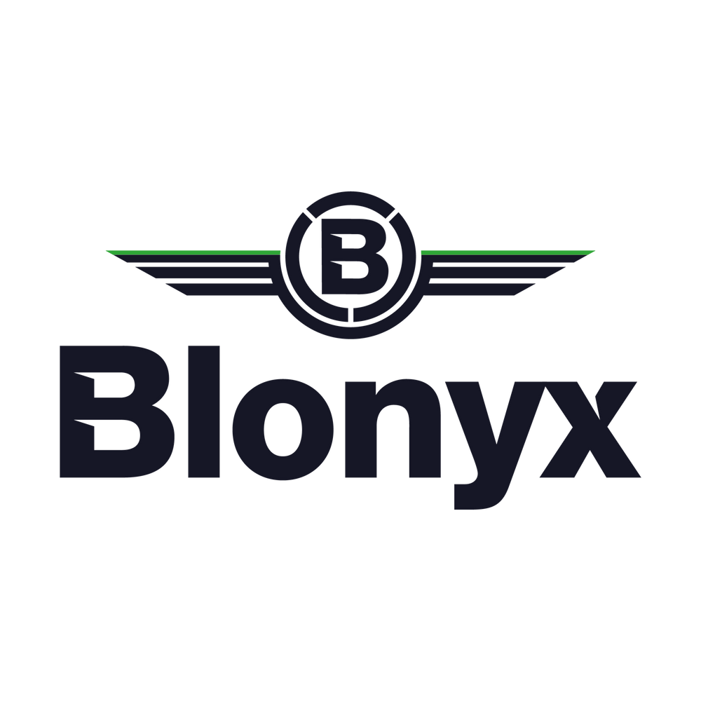 Blonyx Window Decal