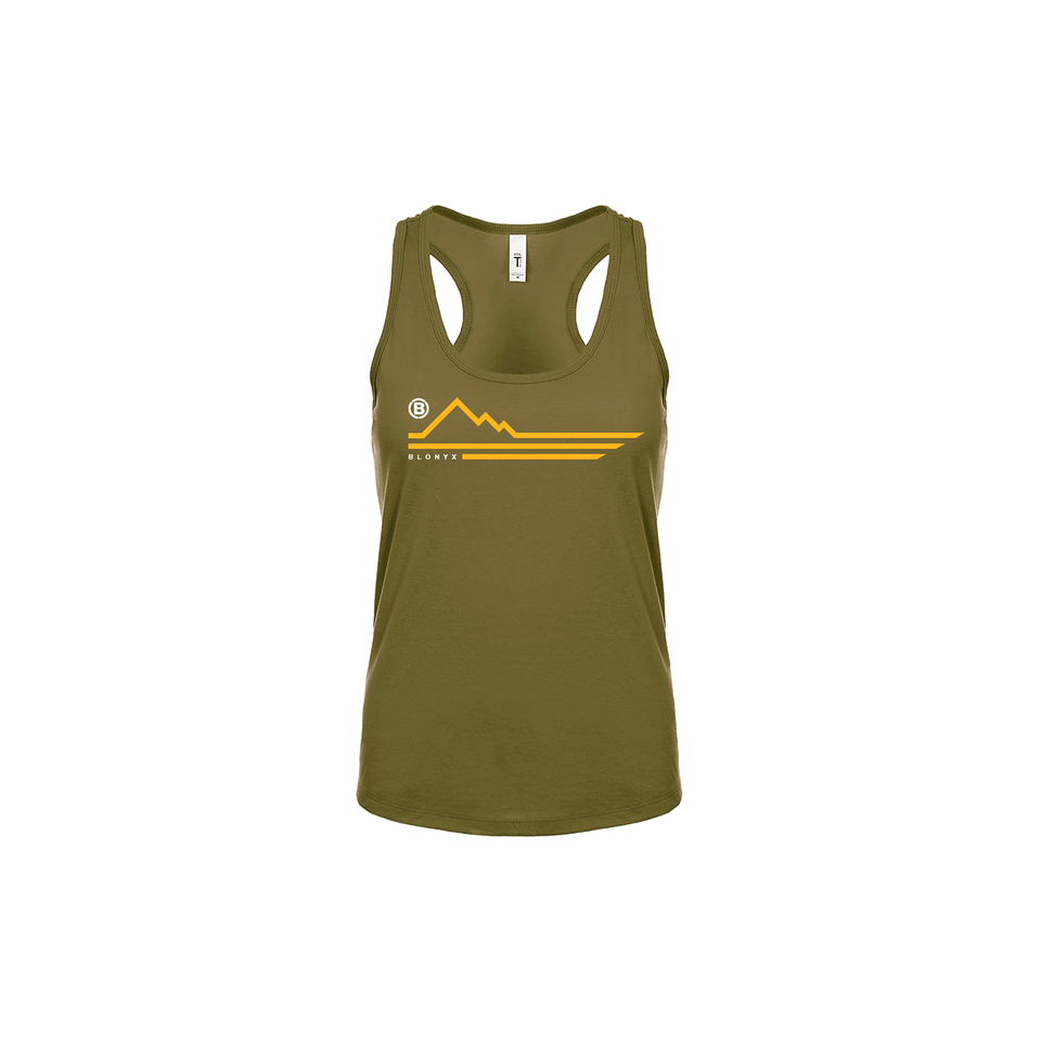 Blonyx Series 13 Tank - MILITARY GREEN