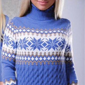 Winter Warm Christmas Sweaters Women New Year Fashion