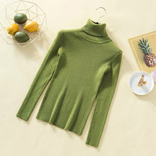 Load image into Gallery viewer, GUMPRUN Winter Women Knitted Turtleneck Sweater 2020