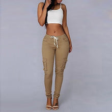 Load image into Gallery viewer, LASPERAL Casual Women Pants Fit Trousers