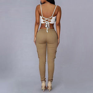 LASPERAL Casual Women Pants Fit Trousers