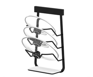 Black Stainless Steel Wall Kitchen Storage Rack