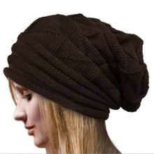 Load image into Gallery viewer, Men Women Knit Oversize Baggy Slouchy Beanie Warm