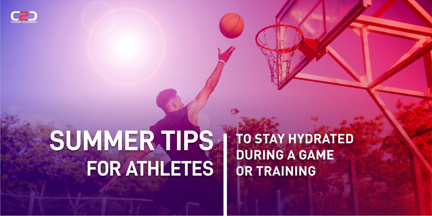 Summer Tips for Athletes to Stay Hydrated During a Game Or Training