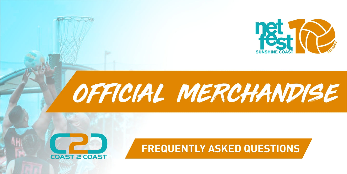 NetFest 2020: FAQs about the Merch and some safety reminders!
