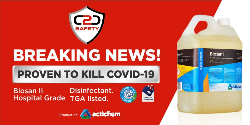 C2C Safety News |  Biosan II Disinfectant kills COVID-19