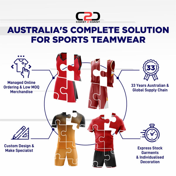 Australia's Complete Solution for Sports Teamwear