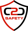C2C Safety logo red and black logo