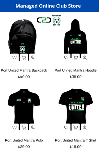 Managed Online Club Store