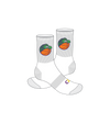 Altona Gators White Logo Socks