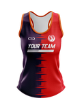 C2C DYO Ladies' Athletic Singlet 3