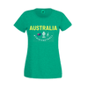 VNWC2019 AUS Green/Gold Country Tee Ladies