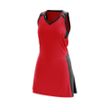 Essential Netball Dress Red/Black