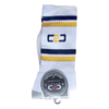 C2C Crew Socks White/Gold/Navy