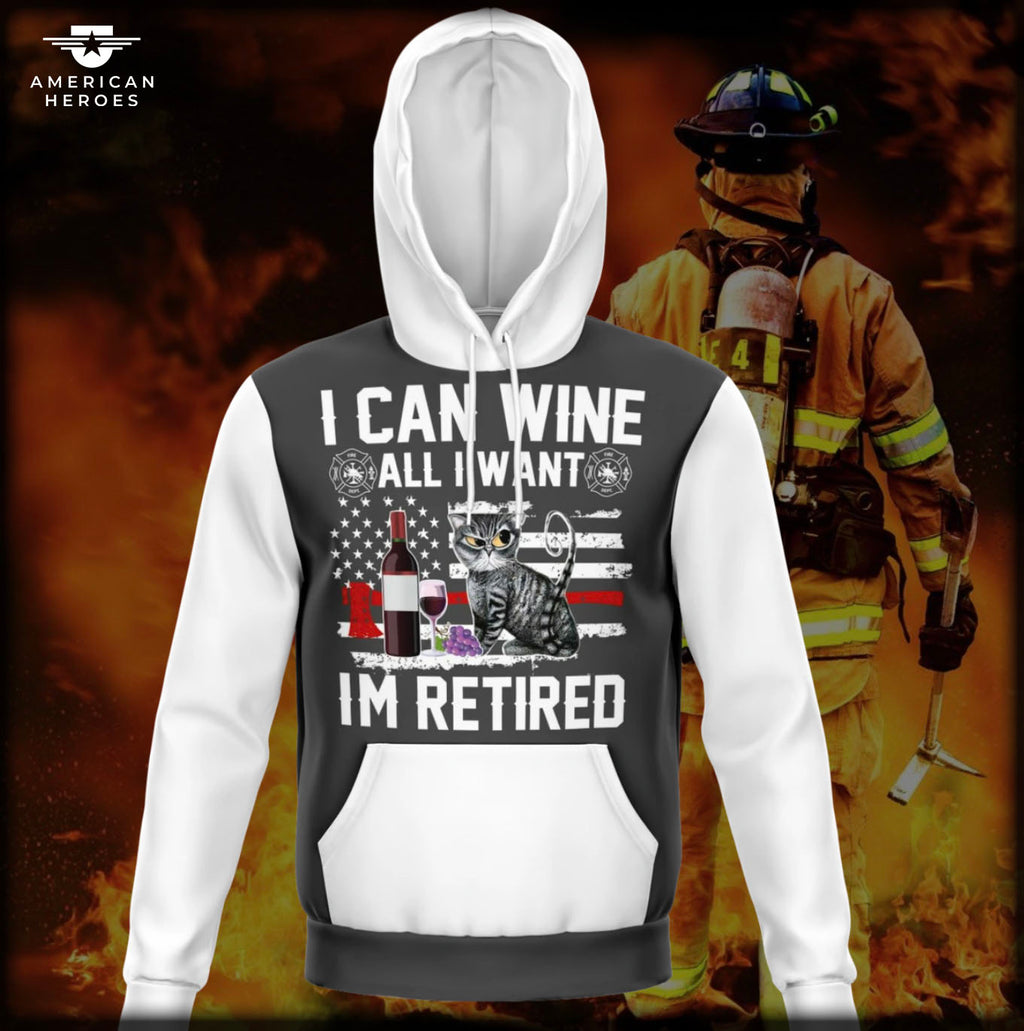 FIREFIGHTERS RETIREMENT HOODIE  👨‍🚒