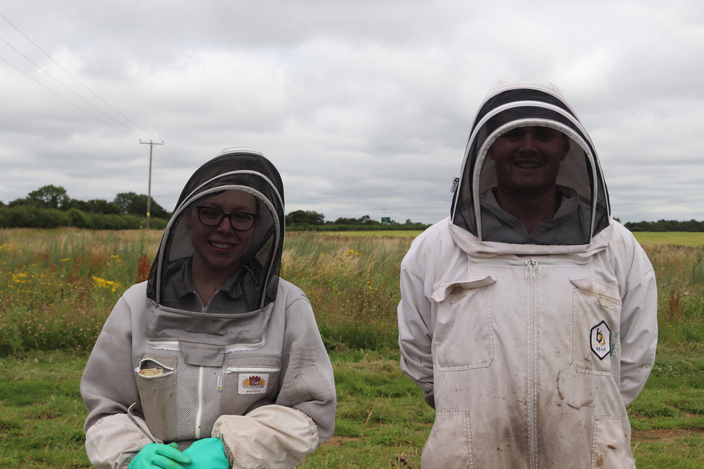 Amanda and Josh from Elm Tree Farm Bees