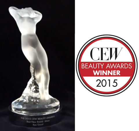 "Bee Good wins ""Best New Brand"" CEW"