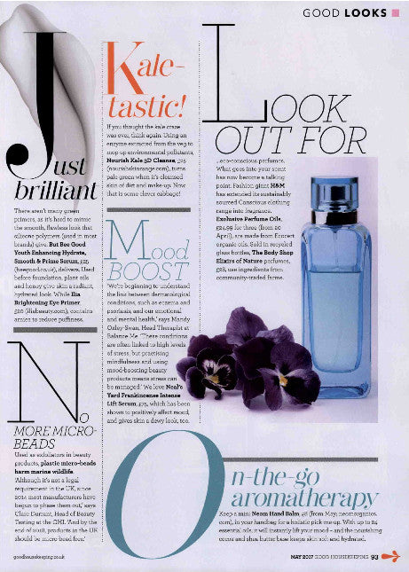 Good Housekeeping features Bee Good's Youth Enhancing Serum