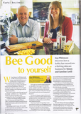 NFU Countryside feature on the story of Bee Good