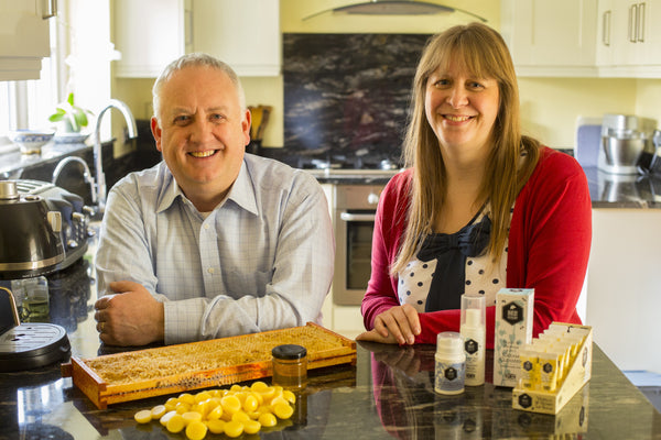Simon & Caroline - Founders of Bee Good