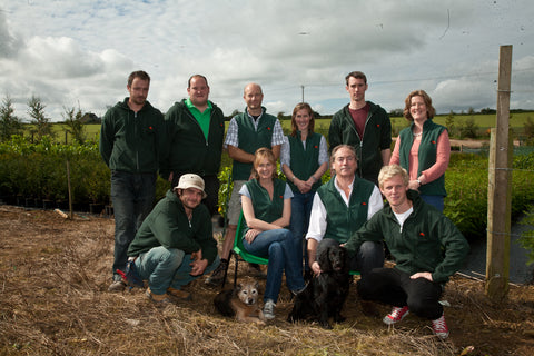 Julien and his staff from Ashridge Nurseries
