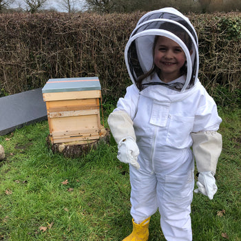 A special new beekeeper