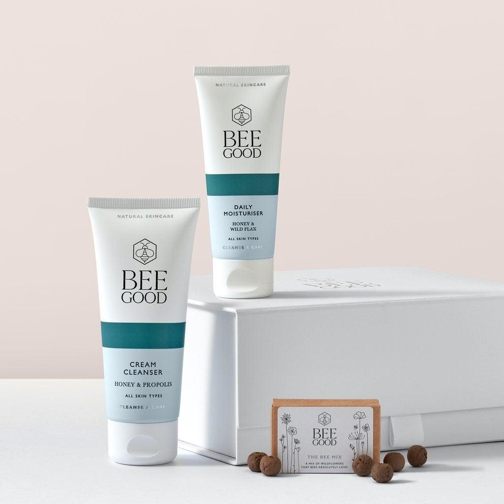 Cleanse & Care Skincare Duo Gift set Bee Good