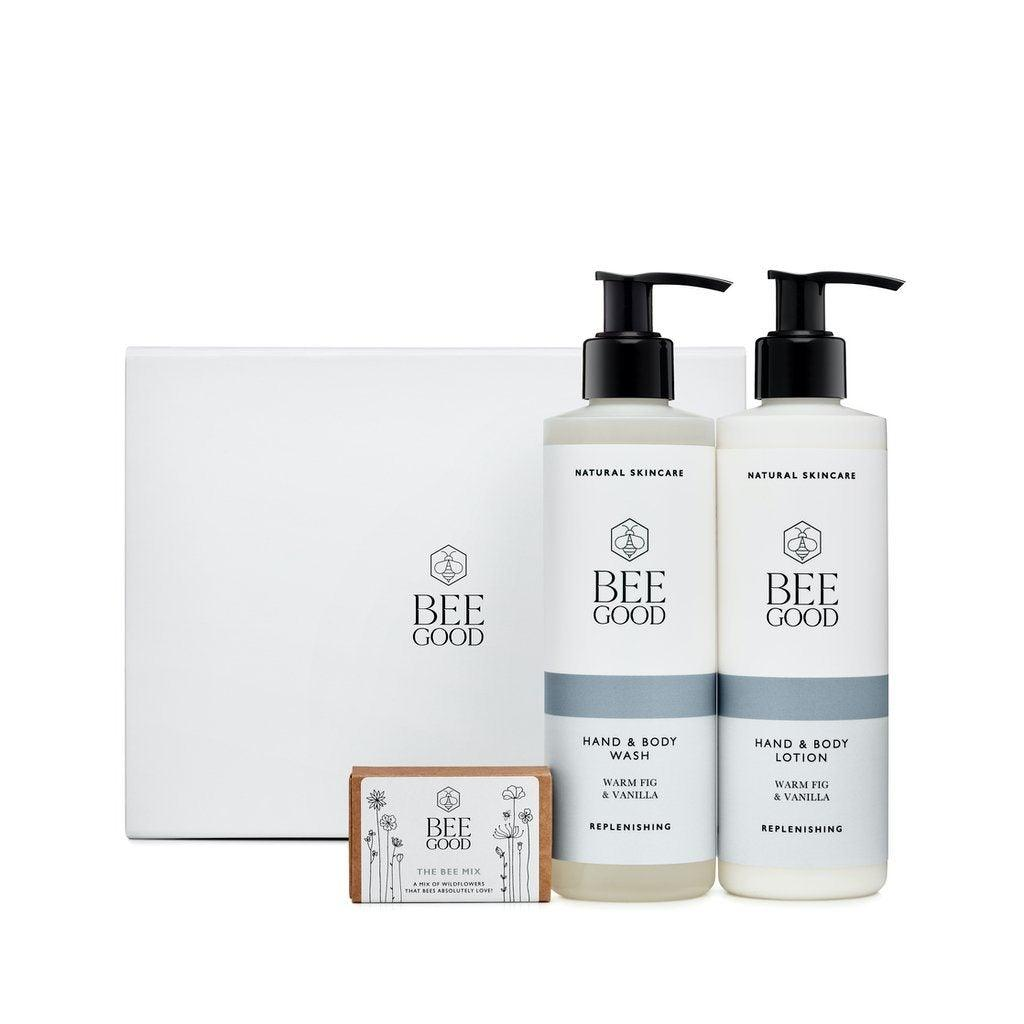 Plant a Meadow - Warm Fig & Vanilla Gift Set Gift Set from Bee Good