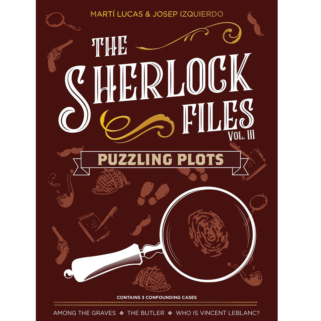The Sherlock Files: Vol III – Puzzling Plots