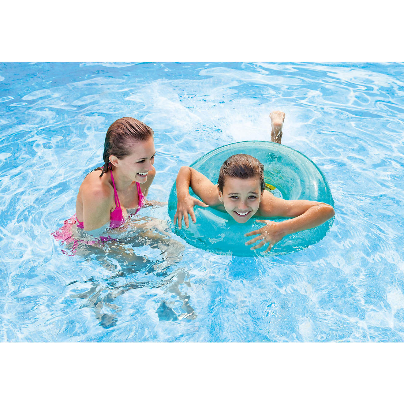 INTEX 3 Neon Swim Inflatable Pool Tube