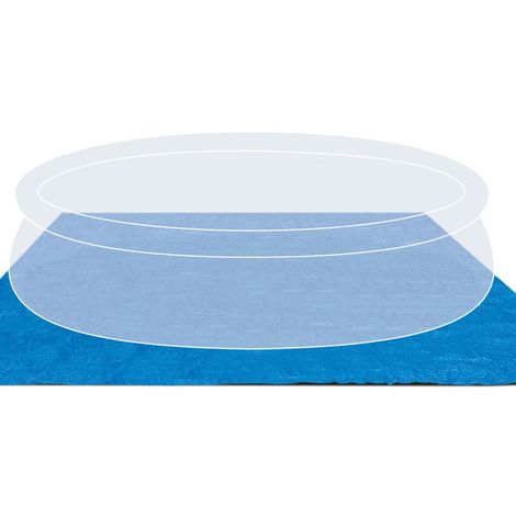 Ground Cloth for 8ft to 11ft Intex Round Above Ground Pools by EZB