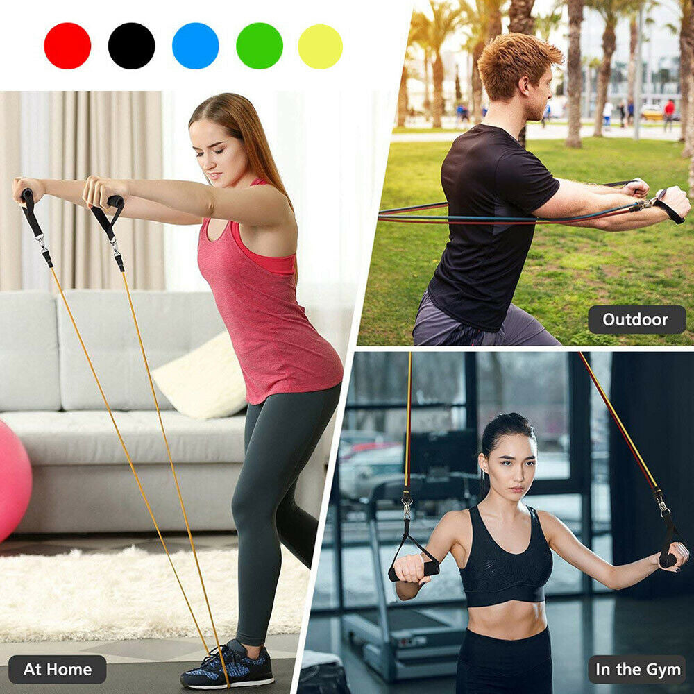 Resistance Bands: 5 Piece Set FitBand by EZB