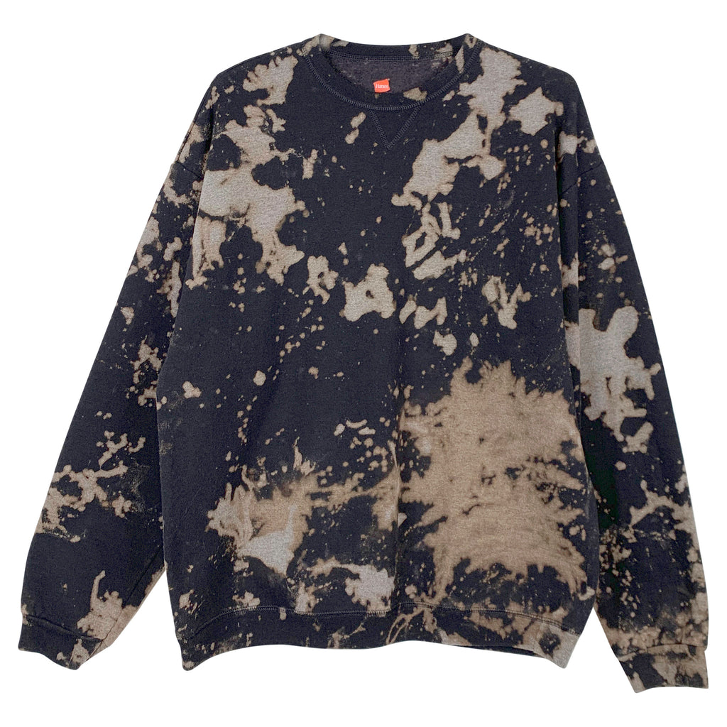REWORKED TIE-DYE SWEAT - L