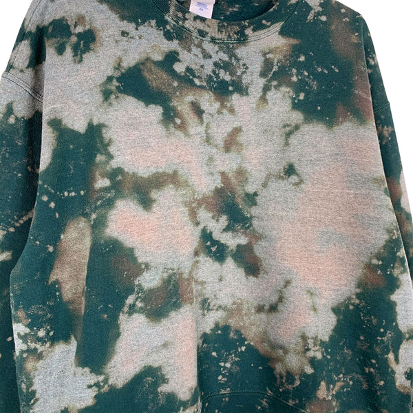 REWORKED TIE-DYE SWEAT - XL