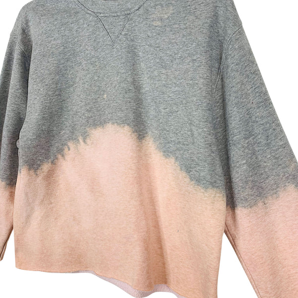 REWORKED TIE-DYE SWEAT - S