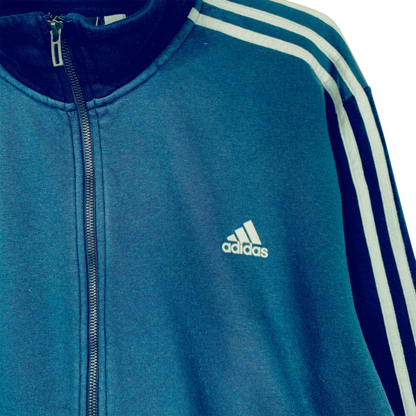 ADIDAS ZIP SWEATSHIRT - XL